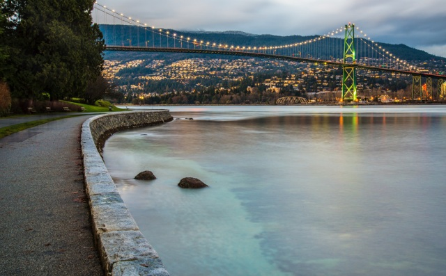 The amazing view from Stanley Park, one of the things I miss since moving away from Vancouver.